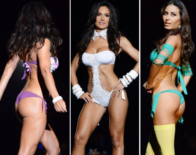 Italienilor le plac femeile cu forme. Iata ce tinere voluptoase au luat locul modelelor size zero la Milano Fashion Week