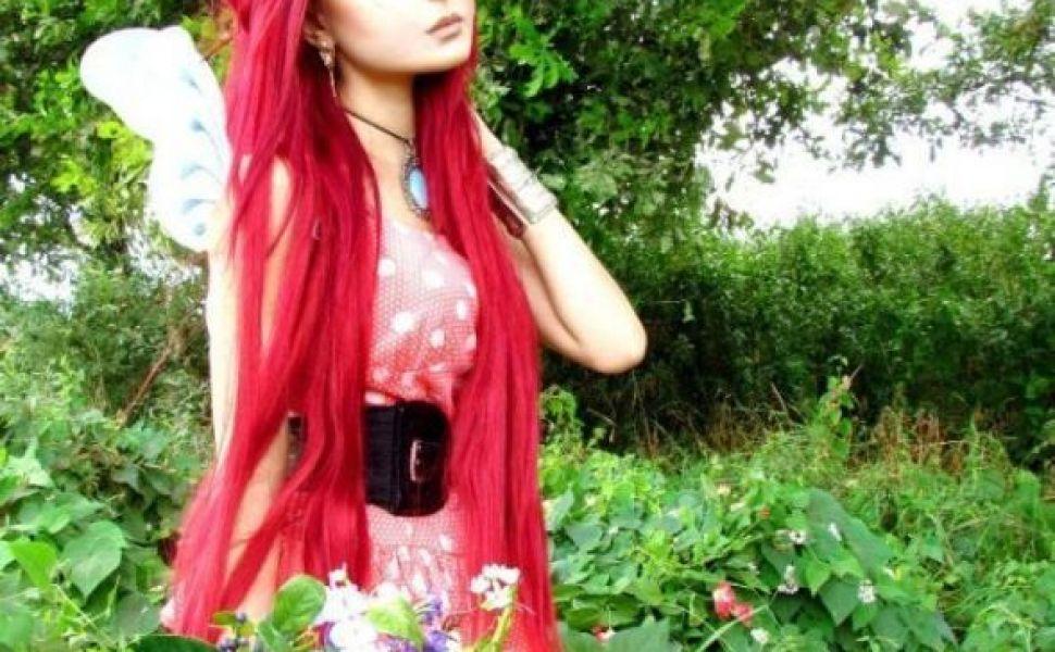Fata cu chip de papusa. O ucrainianca de 19 ani isi traieste viata transformandu-se in personajele de desene din Japonia