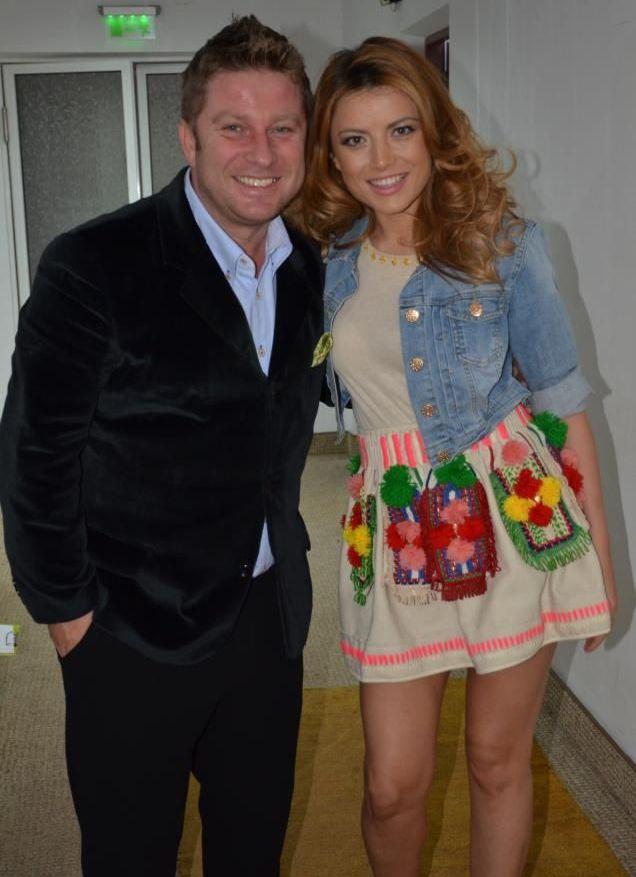 Elena Gheorghe,  sedusa  de sexy Pavel Bartos! Ce surpriza le-au facut cei doi fanilor