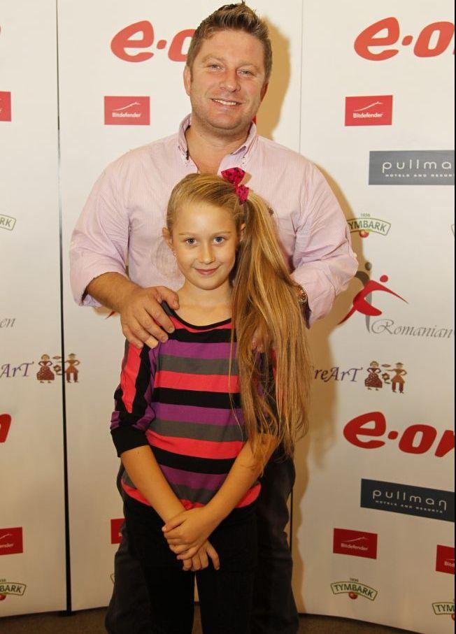 Pavel Bartos, mandru de fiica sa cea mare. Vezi cat de frumoasa este Eva!