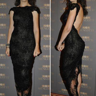 Amalia Nastase, la cea mai sexy aparitie in public! Iata cea mai indrazneata rochie purtata de vedeta pana acum