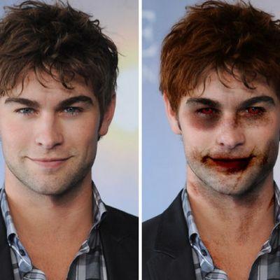 Cum ar arata vedetele tale preferate daca ar fi zombie. Vezi cele mai infricosatoare transformari de Halloween