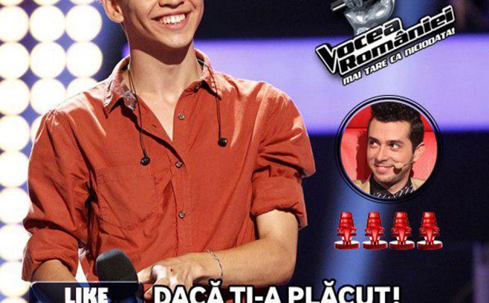 Robert Reamzy,  Michael Jackson  de la Vocea Romaniei:  Muzica tine si de foame si de sete  - EXCLUSIV
