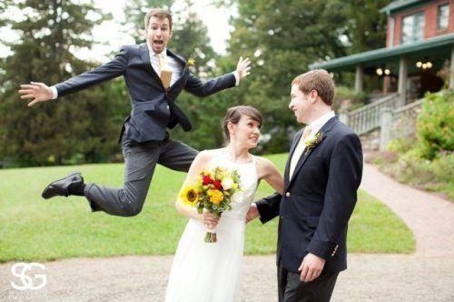 Aceste Fotografii De Nunta Ar Fi Fost Perfecte Cu Exceptia Unui Mic