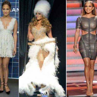RETROSPECTIVA 2012. Cele mai spectaculoase aparitii ale lui Jennifer Lopez. Vedeta s-a afisat de 3 ori in tinute ale designerilor romani