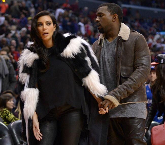 E oficial! Kim Kardashian si Kanye West vor avea un copil! Cum si-a ascuns vedeta sarcina pana acum