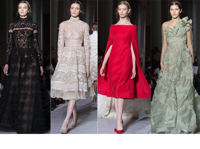 Paris fashion week haute couture valentino primavara vara for O couture fashion