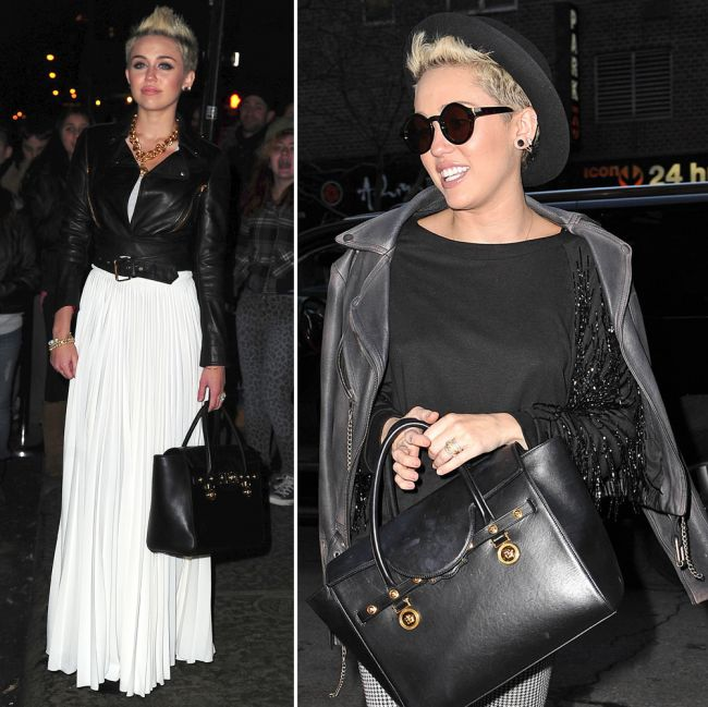 Miley Cyrus se transforma intr-o adevarata fashionista. Cu ce tinute s-a remarcat la New York Fashion Week