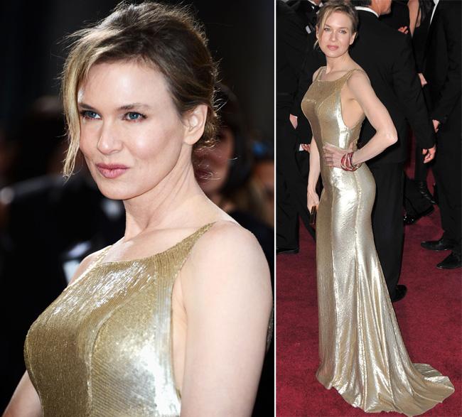 Renee Zellweger, aparitie bizara la Premiile Oscar: excesiv de botoxata si de ametita