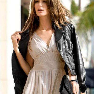Este considerata una dintre cele mai sexy femei din modelling, insa este extrem de slaba. Cum a fost suprinsa la plaja
