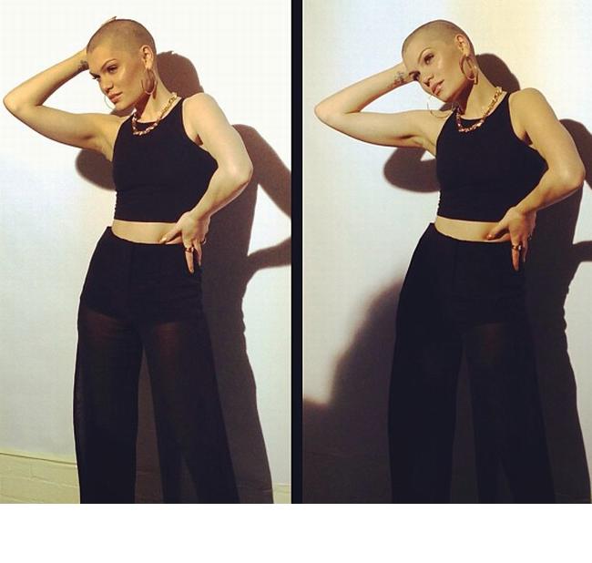 Jessie J se lauda cu o noua culoare a parului. Cantareata s-a pozat in vacanta in costum de baie si arata senzational