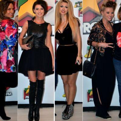 Moldovencele au fost cele mai sexy la petrecerea Pro Fm! Anna Lesko si Natalia Barbu au atras toate privirile