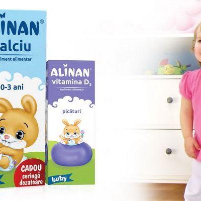 (P) Crestere sanatoasa din primele zile de viata cu Alinan