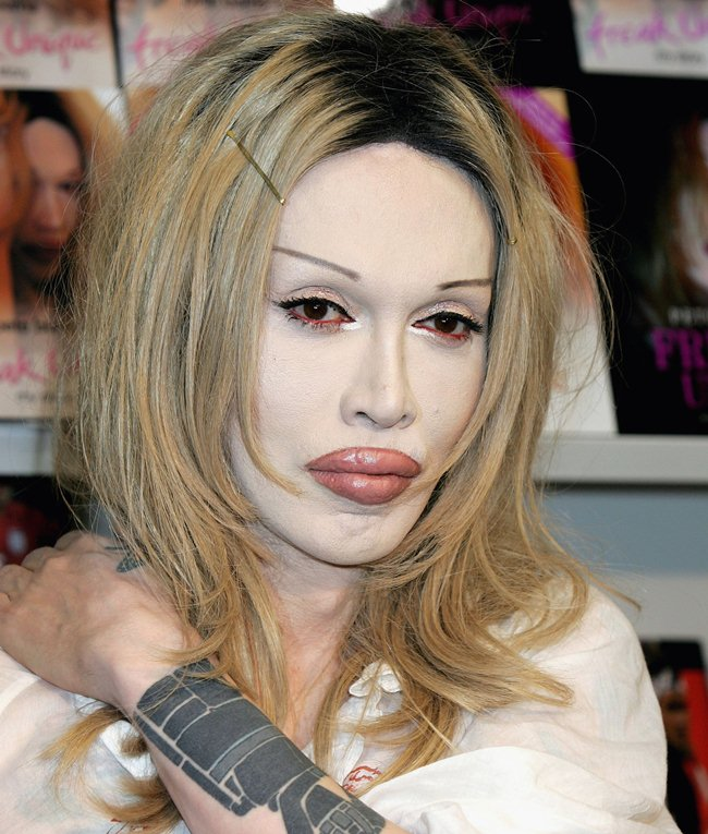 Happiness Pete burns penis will
