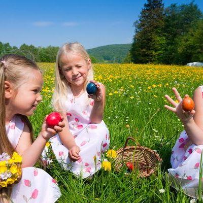 Activitati de Paste pentru copii: organizeaza-i micutului tau o vanatoare de oua