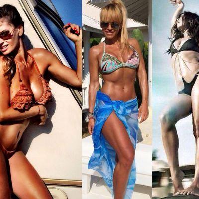 3 vedete, 3 siluete diferite....dar sexy! Ca cine ai vrea sa arati in costum de baie: ca Anda Adam, Andreea Banica sau Inna?