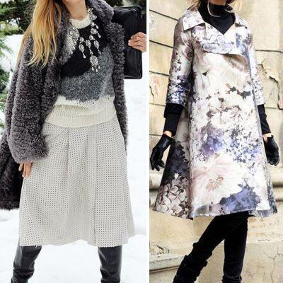 Fashioniste si in sezonul rece! Vedetele din Romania demonstreaza ca poti fi la fel de stilate si sexy si pe ploaie si frig