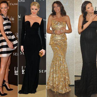 Antonia, atractia serii la Elle Style Awards. Cum s-au imbracat vedetele