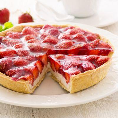 Reteta tarta cu capsuni. Impresioneaza-ti invitatii cu un desert revigorant si foarte delicios