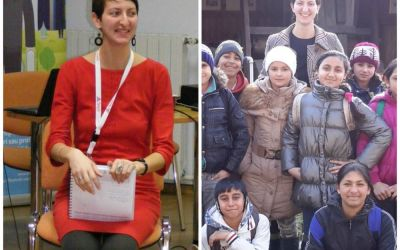 Silvana Rapeanu a renuntat la o viata linista in Barcelona pentru a le fi profesor copiilor din Sacele