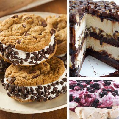 Delicii reci pentru vara. 5 idei de deserturi cu inghetata