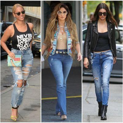 Acestia au fost cei mai sexy jeans pe care i-am vazut in 2015. Blugii de care ne-am indragostit anul acesta