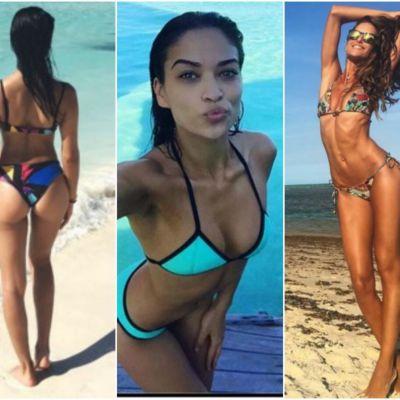 Jos filtrele! Cele mai sexy modele ale momentului isi arata corpurile sexy in costume de baie, pe Instagram