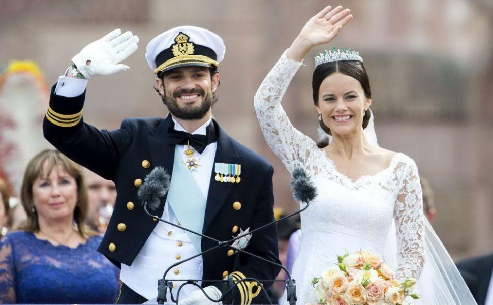 Rivalizeaza cu Kate Middleton. Printesa Sofia a Suediei, incantatoare intr-o rochie care ii pune in valoare burtica