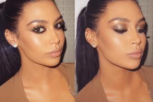 Kim Kardashian sau...nu? Faceti cunostinta cu tanara care CHIAR seamana perfect cu vedeta. Nimeni nu le poate deosebi