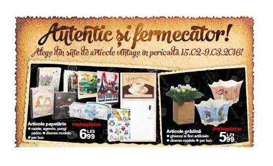 Romantic si fermecator ndash; Produse vintage la Carrefour, odata cu venirea primaverii (P)