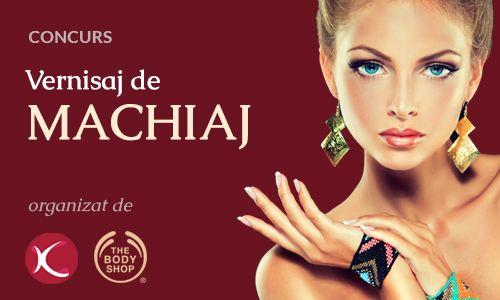 Concurs de makeup organizat de Komunomo: Vernisaj de Machiaj (P)