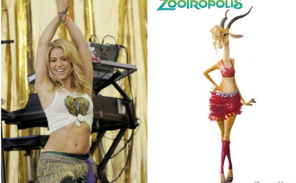 Cum Shakira a castigat admiratia fanilor.  E prea slaba : ce le-a cerut producatorilor Zootopia pentru personajul ei