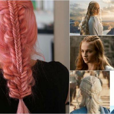 Cele mai frumoase impletituri, inspirate de Game of Thrones. Cum sa arati ca o adevarata Khaleesi