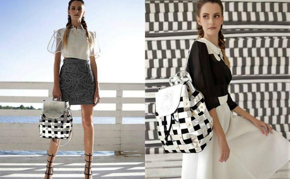 Bianca Ciuvat, designerul care incearca sa le convinga pe romance sa poarte ghiozdan in loc de geanta