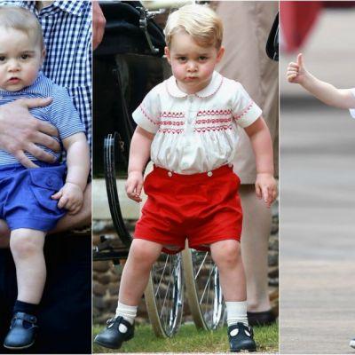 De ce poarta Printul George mereu doar pantaloni scurti. Adevaratul motiv, dezvaluit in urma cu putin timp