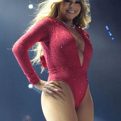 Si-a inghesuit formele intr-un body minuscul. Cum a aparut Mariah Carey dupa despartirea de miliardarul James Packer