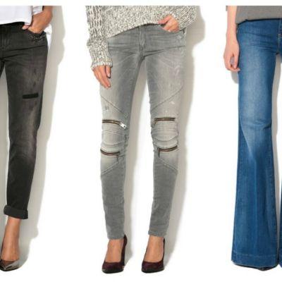 Black Friday 2016. Modele de jeans in trend sezonul acesta, pe care le poti cumpara la reduceri