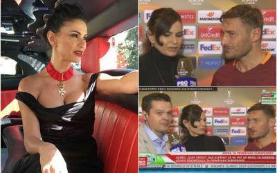 Ramona Badescu despre interviul pe care i l-a luat lui Totti, in direct pe sport.ro: Ne cunoastem de 20 de ani  EXCLUSIV