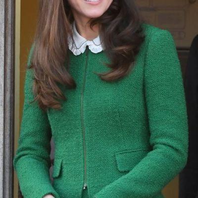 Fara cusur. Ducesa de Cambridge a impresionat intr-o rochie verde, foarte chic. Cat de frumoasa a fost