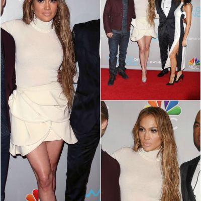 Se poarta maxi! Parul maxi :) Jennifer Lopez, pe urmele lui Kim Kardashian, cu extensii de par interminabile