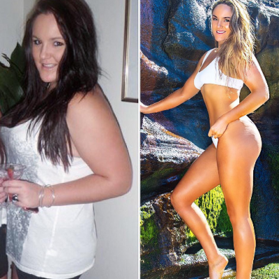 A slabit 65 kg, s-a vopsit blonda si acum arata ca un fotomodel. Transformare totala dupa ce iubitul a facut-o grasa