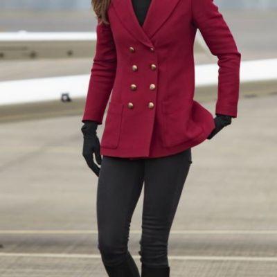 Ducesa de Cambridge, in cei mai mulati pantaloni. Cum a aparut Kate Middleton si ce au surprins fotografii