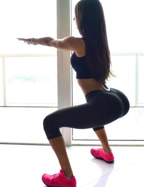 Regina fitness-ului si-a gasit pereche pe masura.Cum arata cel care a cucerit-o pe tanara cu cele mai bine lucrate forme