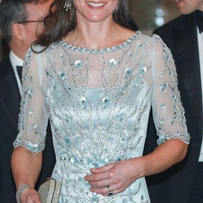 Kate Middleton, ravasitoare la Paris. Cum arata rochia ei superba, demna de Premiile Oscar