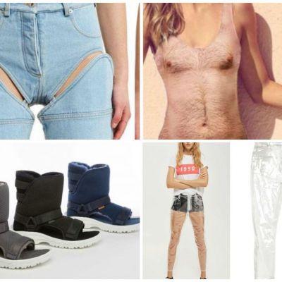 Cele mai inutile lucruri fashion pe care le poti cumpara online, de la costumul de baie paros la sandalele UGG imblanite