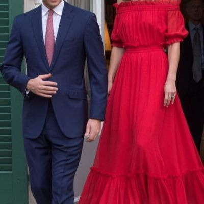 Kate Middleton, in rochie flamenco. Cum s-a imbracat Ducesa de Cambridge si ce i-a impresionat pe fani