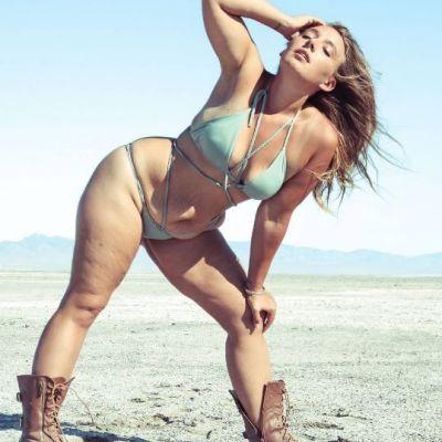 Corpul sau de dupa sarcina ii aduce succes. Cum arata femeia care face avere cu vergeturile pe care le are dupa nastere