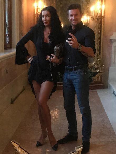 Mihaela Radulescu si Felix Baumgartner, asa cum nu i-ai mai vazut niciodata. Ipostaza inedita in care au pozat cei doi