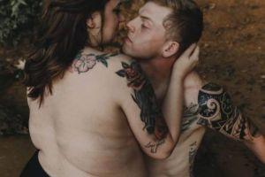 Cuplul care cucereste internetul. Cum arata cei doi si de ce toata lumea s-a indragostit de fotografiile lor