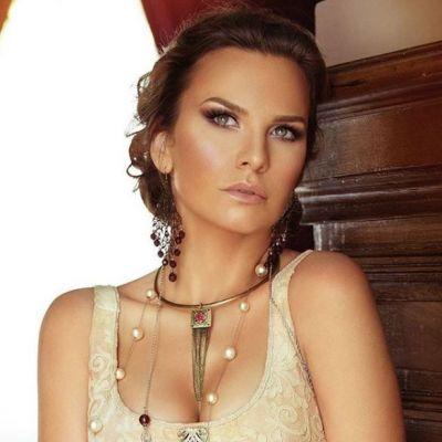 Cea mai sexy poza cu Anna Lesko din 2018. Vedeta a pozat topless la 39 de ani